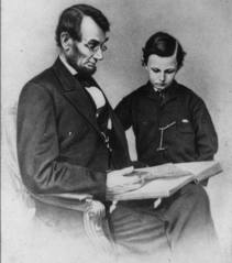 lincoln and his son